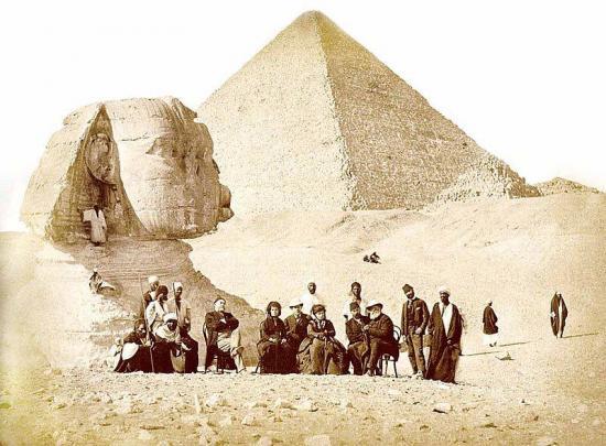 Sphinx mariette 1871