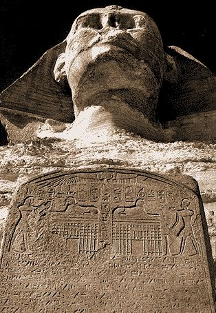 Sphinx mariette 1871c