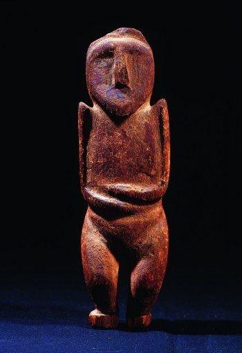 Statuette kachina hopi puch tihu