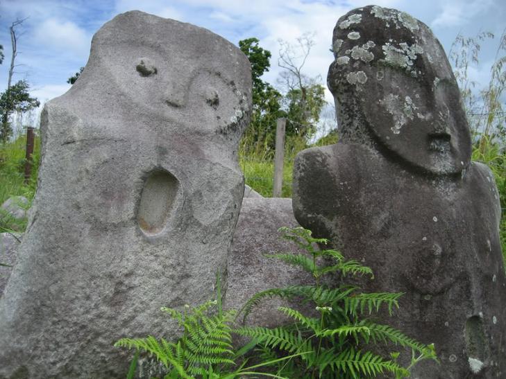 Sulawesi monolithes