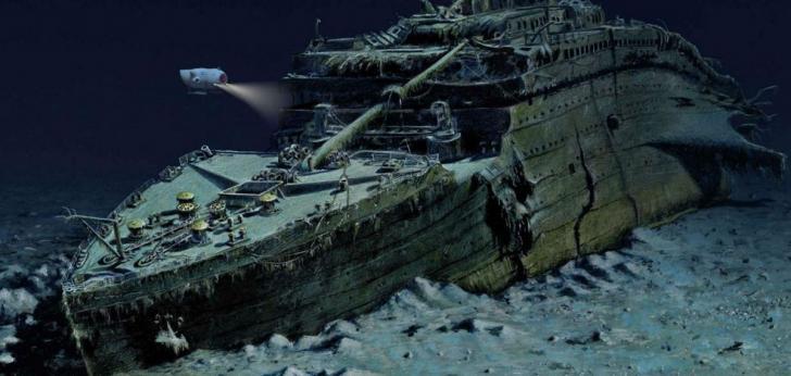Titanic epave