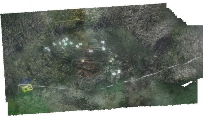 Uk stone age boat site 03