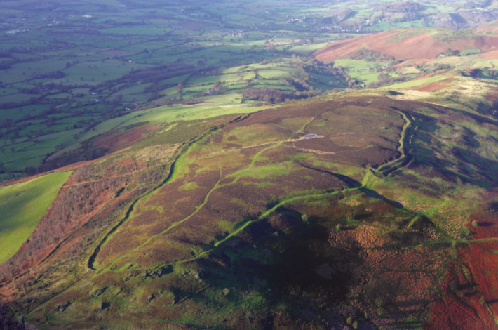 Wales hillforts pennycloddiau
