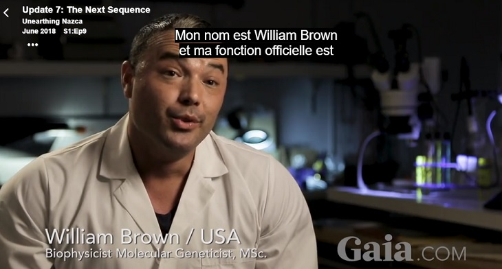 William brown biophysicistmoleculargeneticist usa