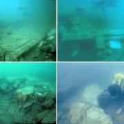 underwater city of Mahabalipuram off the coast of India