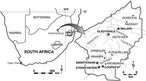 Afriquesud fouilles
