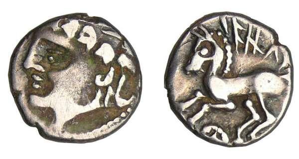 Allobroges denier iazvs cheval z180913