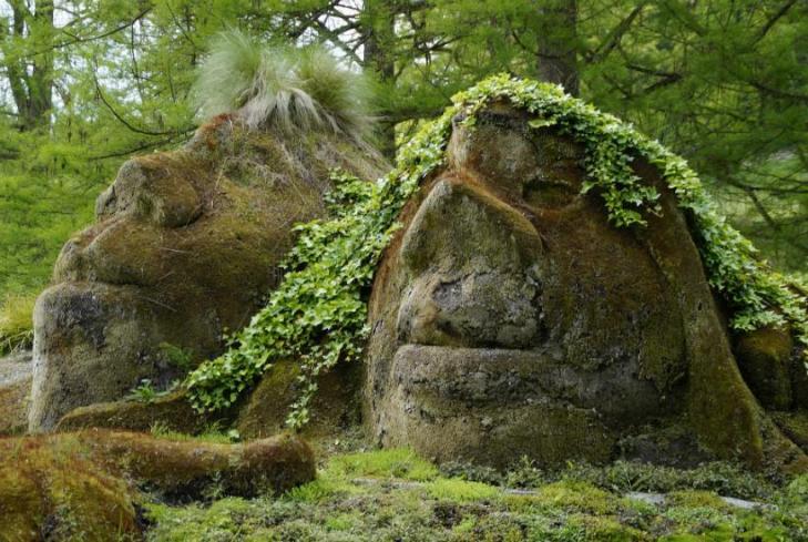 Amazonie sculptures chamaniques