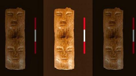Ancienne baguette rituelle syrie 9000ans