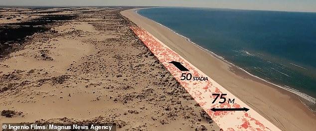 Atlantis tartessos reconstitutionmur75mepaisseur plagenordcadiz