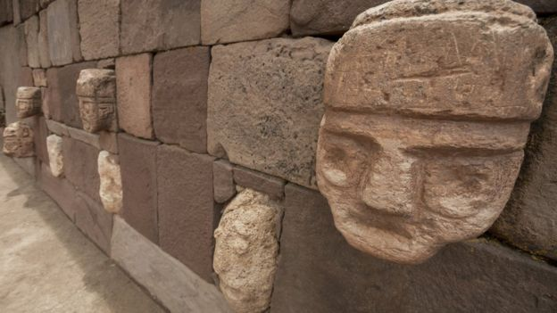 Bolivie titicaca tiwanaku