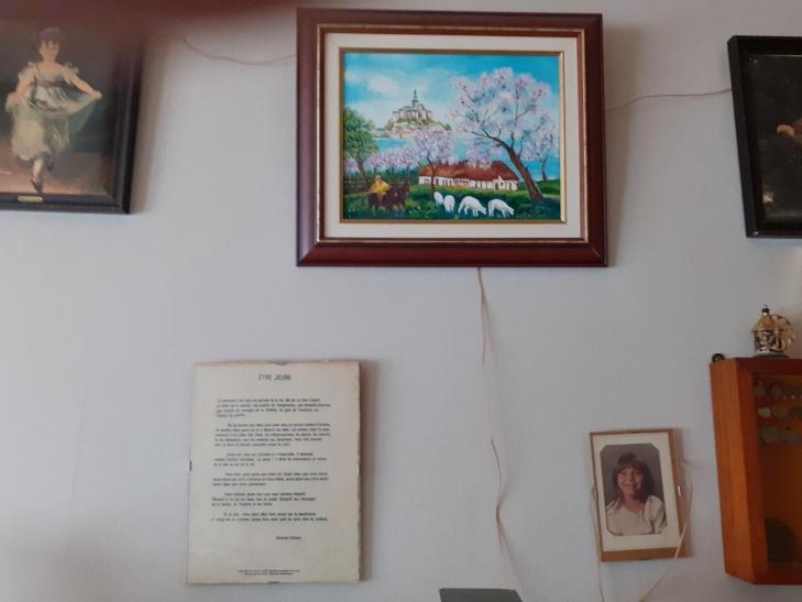 Cadre peinture 1920