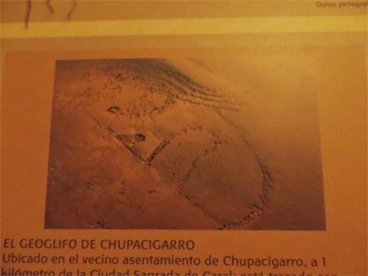 Caral geoglyphe