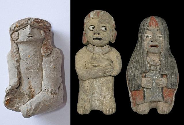 Caral statuettes