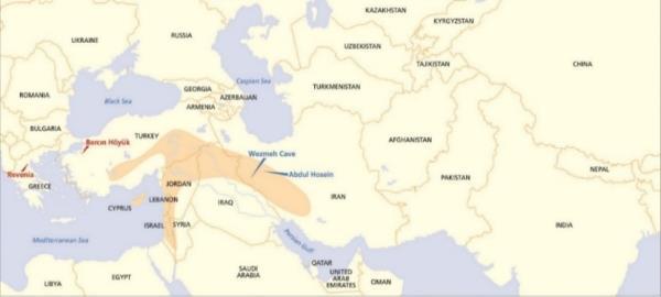 Carte de la zone de contact ou s est diffusee la culture dravidienne de la vallee de l indus