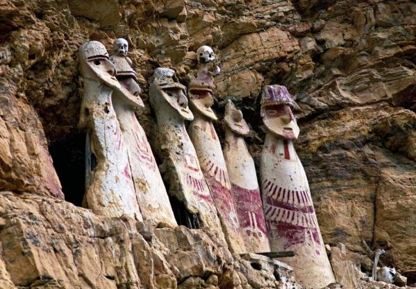Chachapoya sarcophages