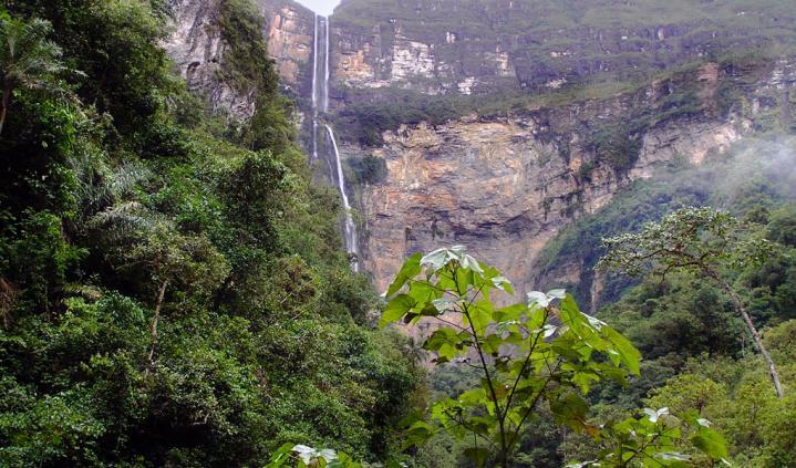 Chachapoyas cascade1
