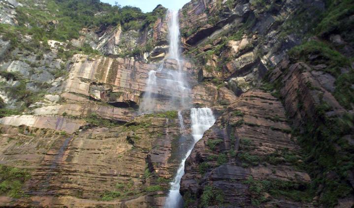 Chachapoyas cascade4