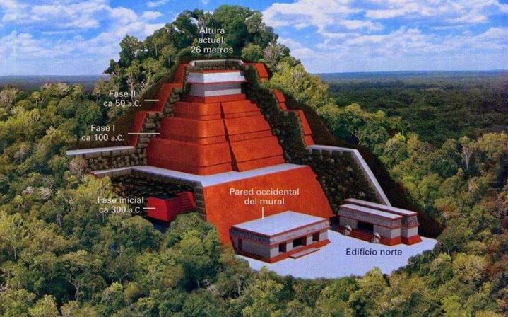 Chiapas mexique pyramide75m2