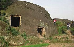 Chine maisons megalithiques