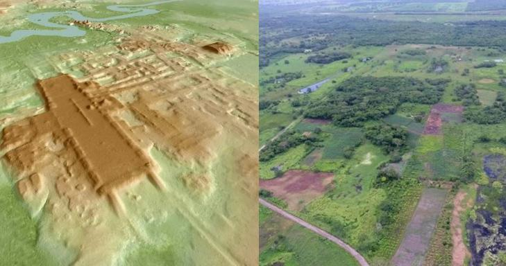 Civilisation maya mexico aguada fenix