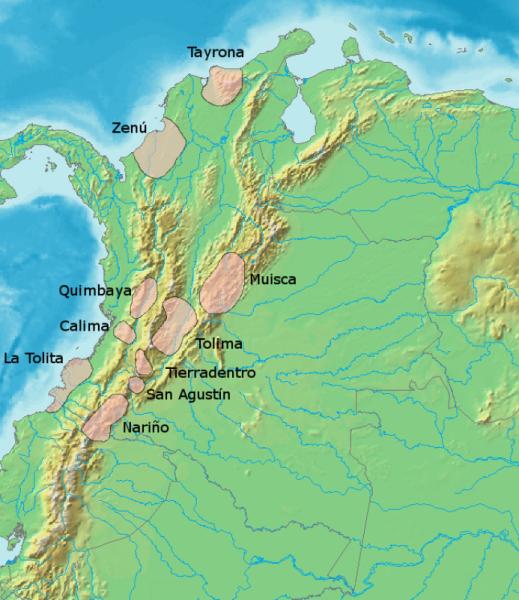Culture precolombiennes en colombie