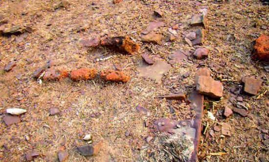 Debris calcines