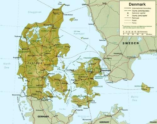 Denmark suede