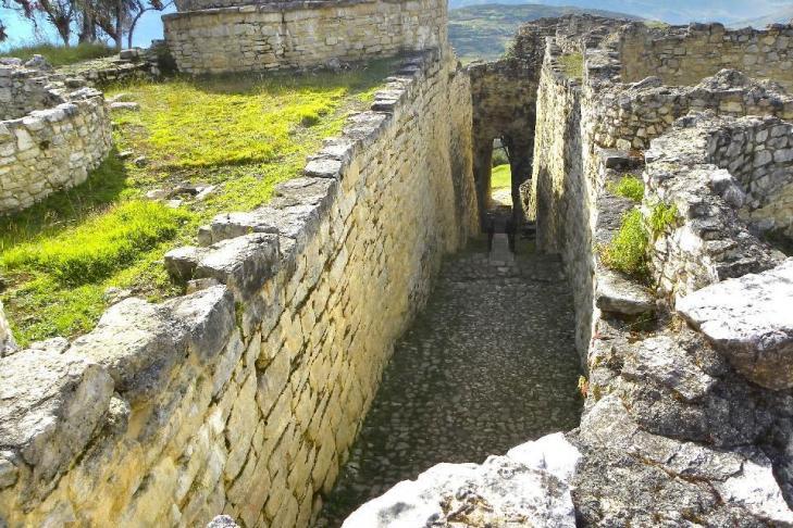 Derriere entree aux ruines de kuelap