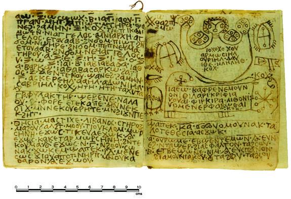 Egyptian codex baktiotha