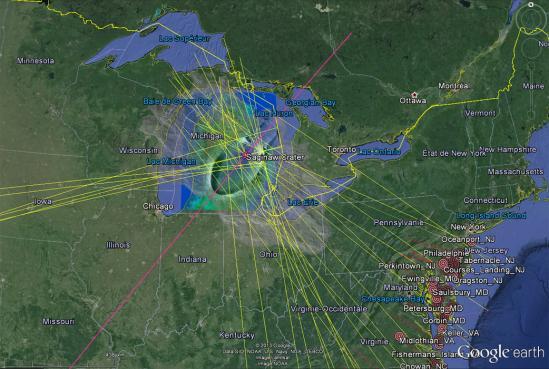 Google earth saginaw closeup