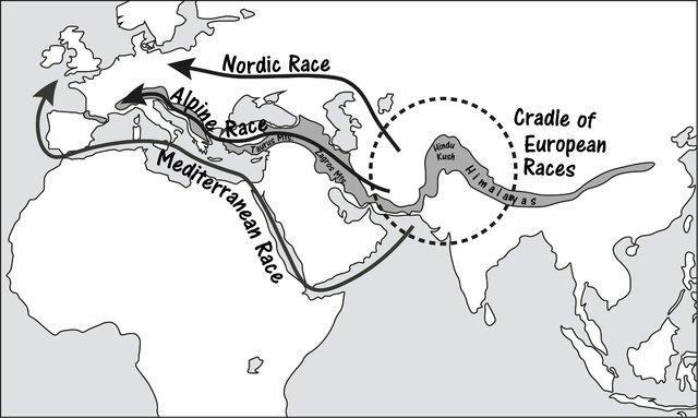Gordon clyde evoquait deja dans les annees 30 la migration d une culture alpine