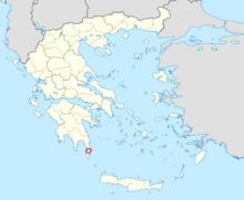 Grece pavlopetir map