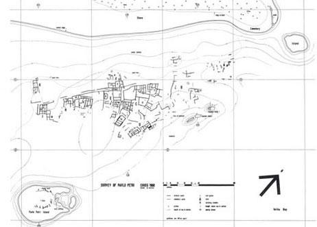 Grece pavlopetri background plan