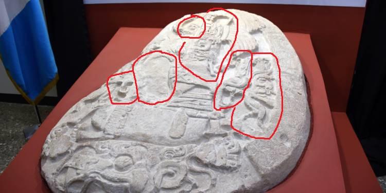 Guatemala lacorona autel personnages