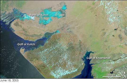 Gujarat gulfs nasa