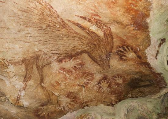 Indonesian cave art old 01