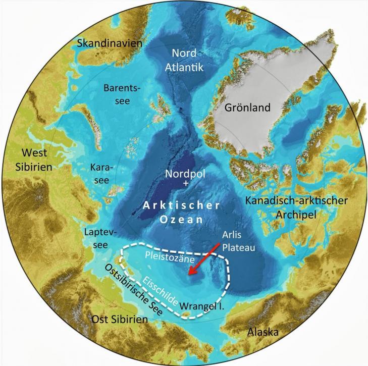Karte arktis fniessen p