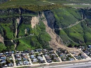 Landslide laconchita 2005 glissement terrain g o mini