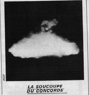 Lasoucoupe du concorde 1973
