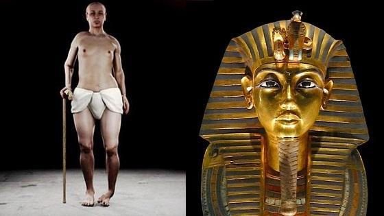 Le pharaon toutankhamon ne d un inceste entre frere et soeur