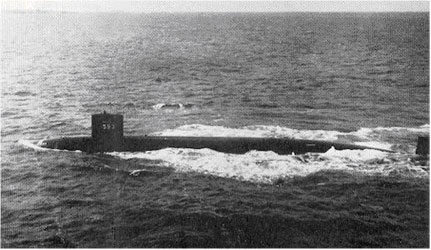Le sous marin nucleaire uss thresher
