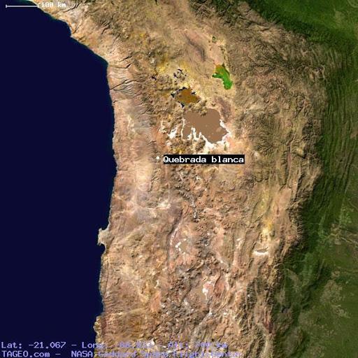 Map quebradablanca