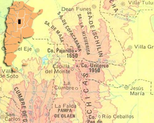Mapa uritorco