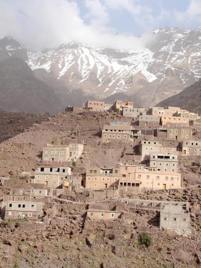 Maroc arroumd village