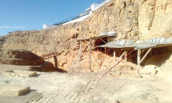 Maroc grottes hominides