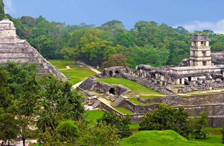 Maya site of palenque