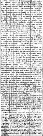 Missouri democrat 10 19 1865 strange story 1
