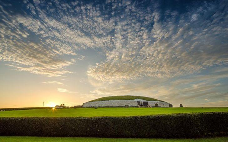 Newgrange sunset getty