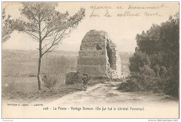 Pennelus cartepostale 1900